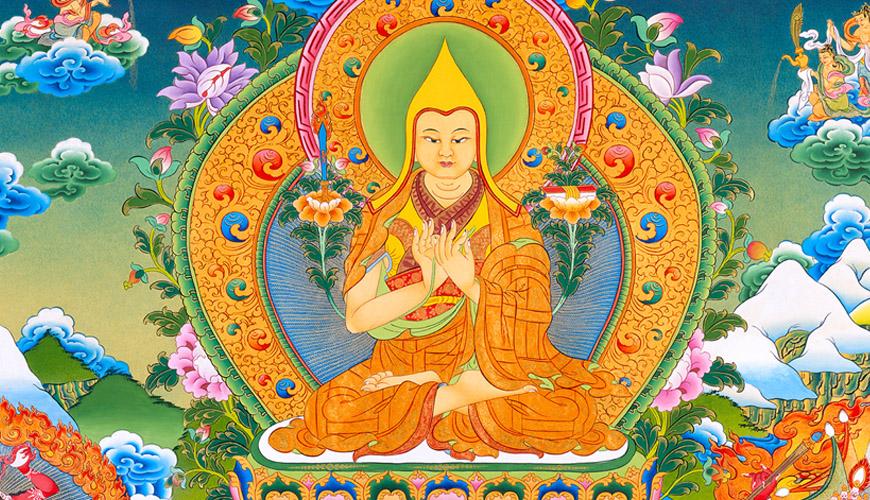 سالن چرخ دراما در معبد لاما پکن